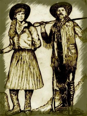 Annie Oakley, Buffalo Bill par didgiv